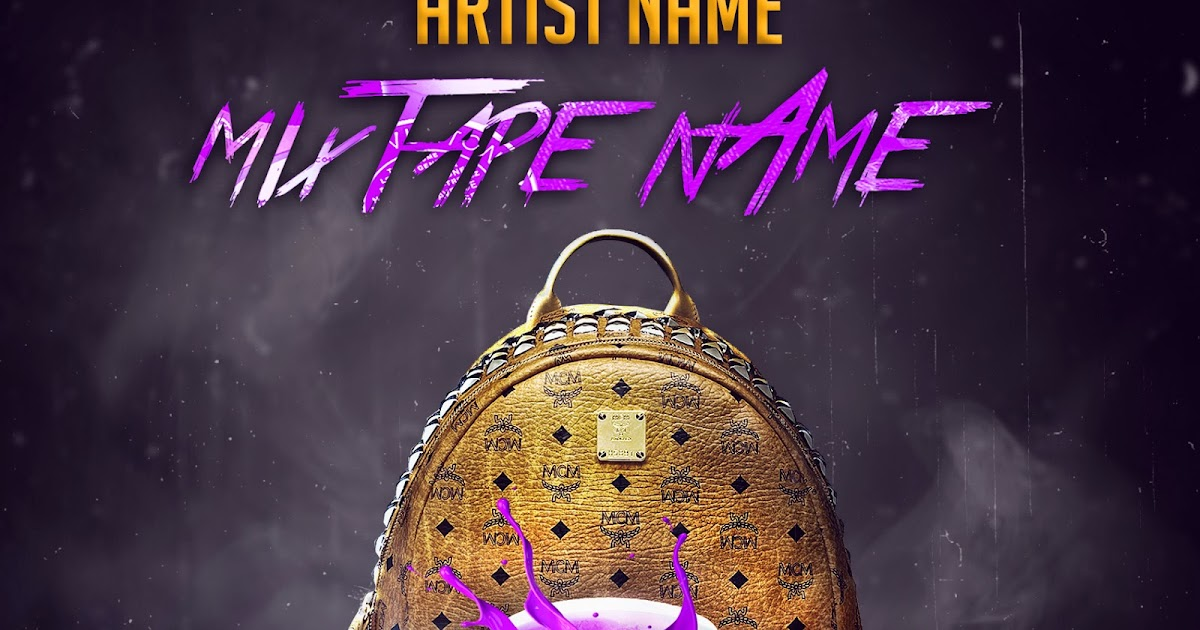 free mixtape cover template chafik graphics
