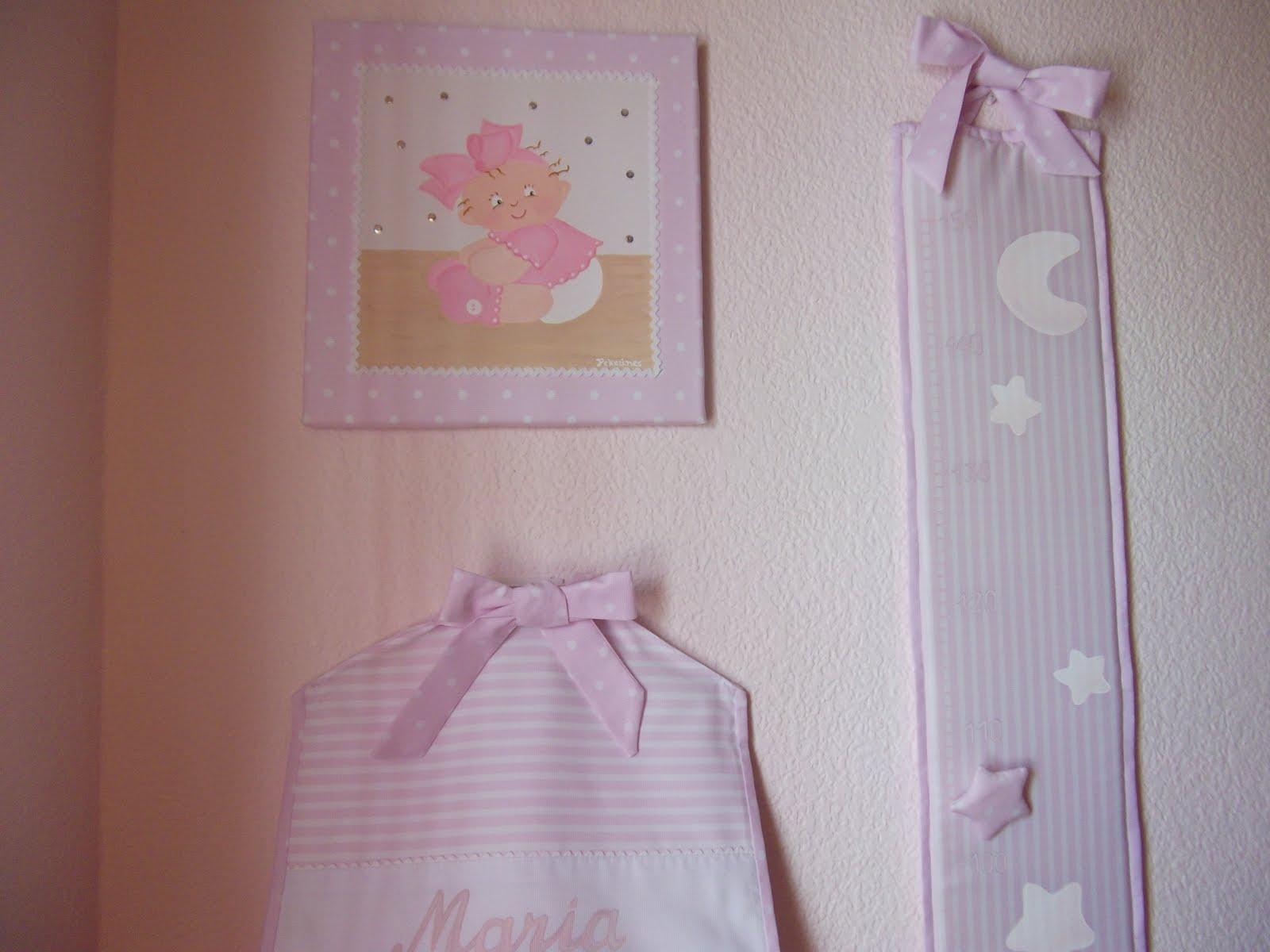 Decoraci n infantil pekerines coordinado habitacion beb - Medidor de habitaciones ...