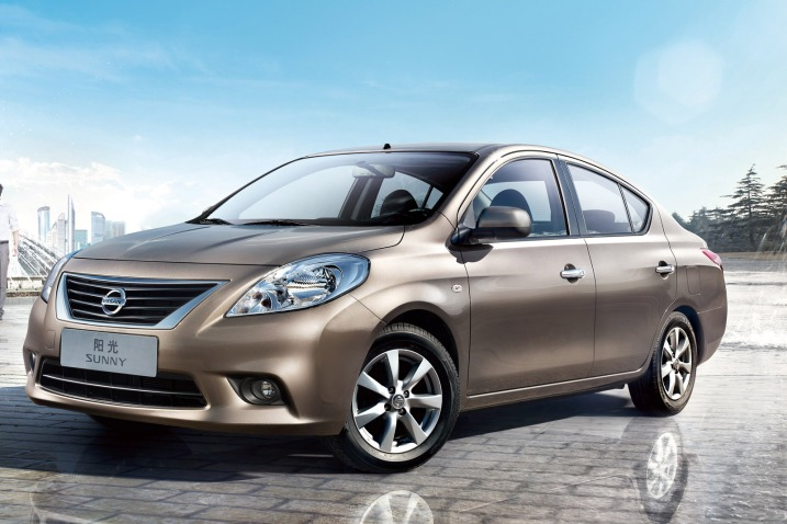 2012 Nissan Sunny Versa Sedan Europe
