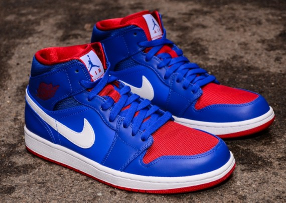 Air Jordan 1 Blue Red White