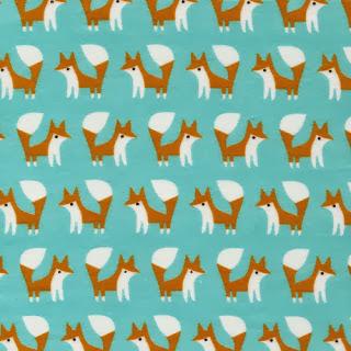 foxwithglasses.blogspot.com :: Cloud 9 Fabrics Fanfare Flannel #foxes