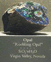 Roebling Black Opal in the Smithsonian