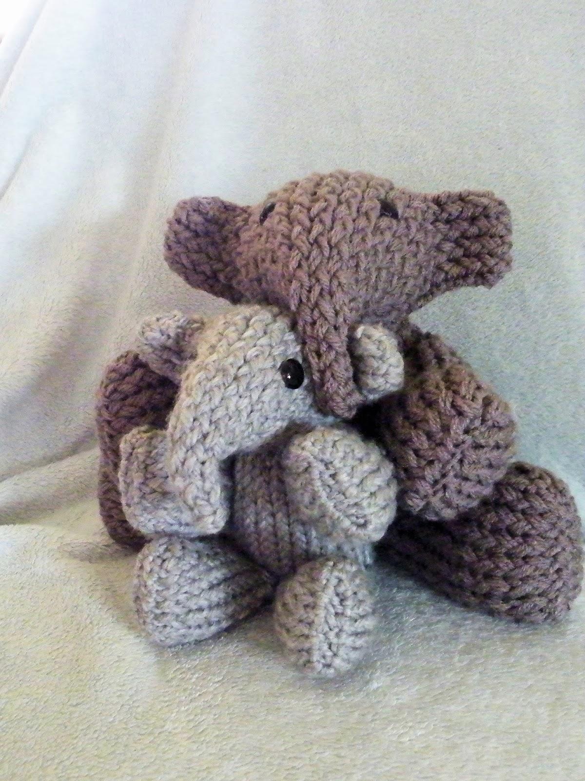 Elephant Ears Knitting Pattern : The Loom Muse : How to Loom and Elephant