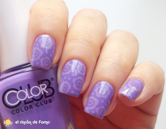 Flowers nail art | el rincón de fama