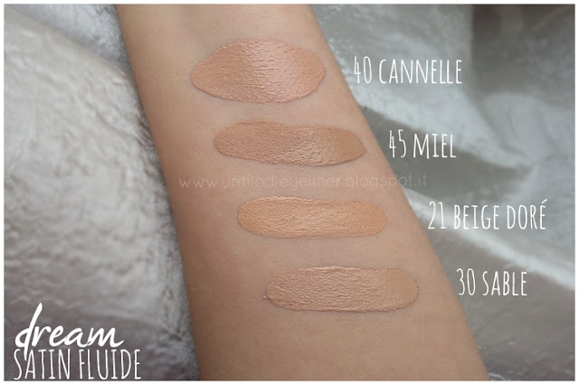 Maybelline Dream Satin Fluide swatch