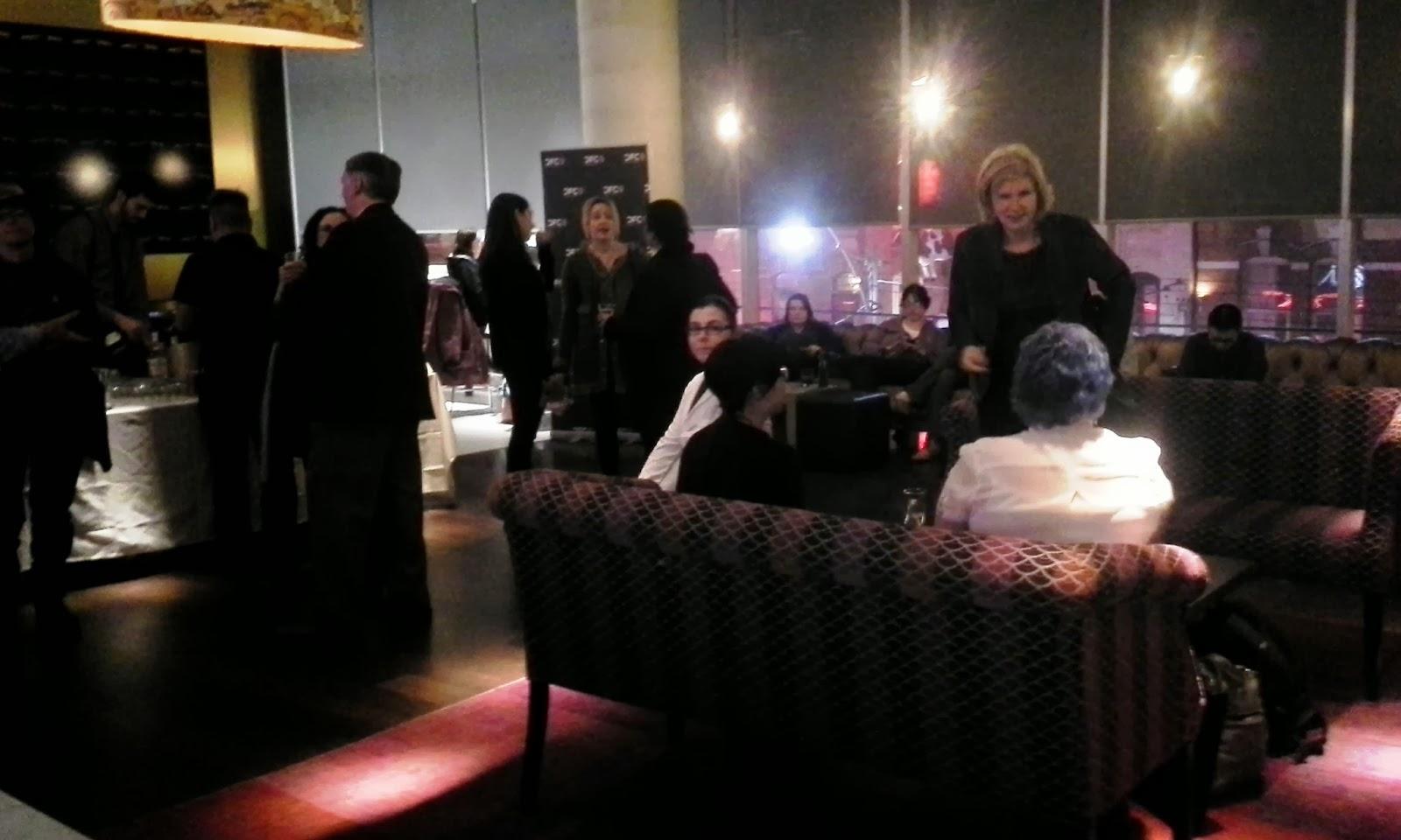 POD Party Implantation at TIFF Lightbox to end David Cronenberg: Evolution Exhibit Melanie.Ps The Purple Scarf Toronto Culture Blogger