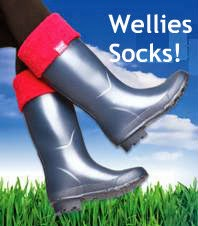 heat holders wellies socks