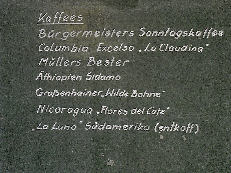 frauschoenert drinks coffee