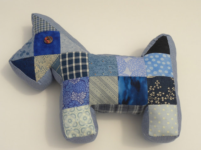 Patchwork Scottie Dog