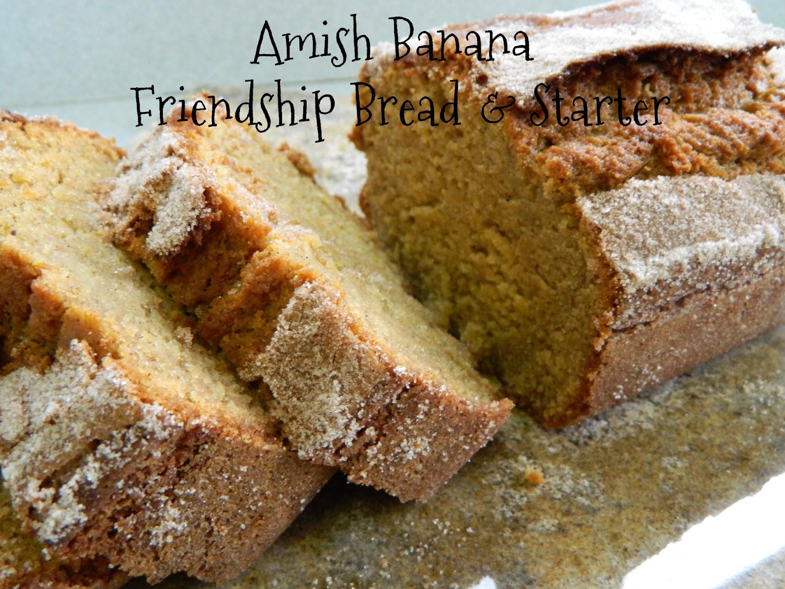 My Favorite Things: Amish Banana Friendship Bread & Starter