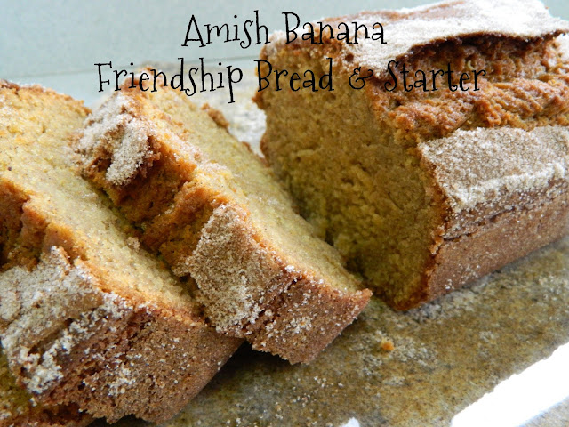 My Favorite Things: Amish Banana Friendship Bread & Starter