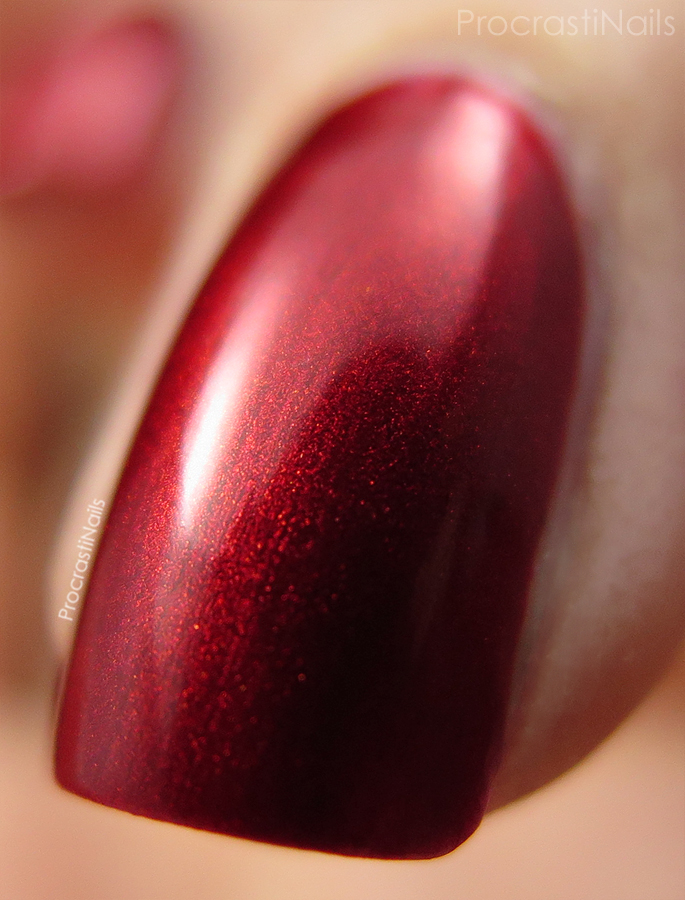 Macro of Julep Kenya for the 30 Days of Colour Nail Polish Challenge