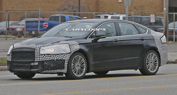 facelifted 2017 ford fusion confirmed for detroit auto show 2016 debut. Black Bedroom Furniture Sets. Home Design Ideas