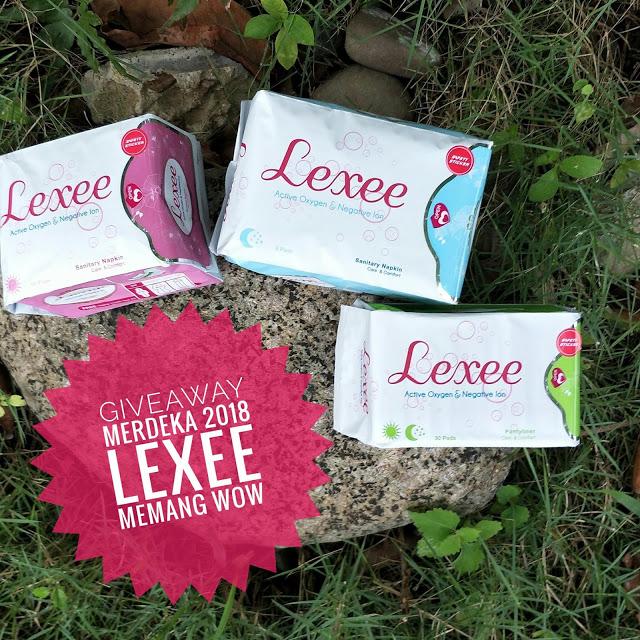 Giveaway Merdeka 2018 Lexee Memang Wow