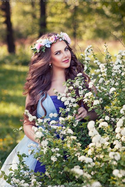 цветущий сад лесная фея