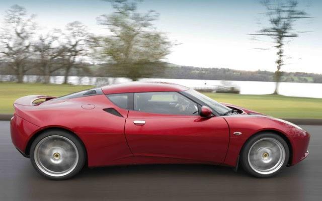 2011 Lotus Evora exterior concept
