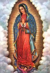 Virgem de Guadalupe, rogai por nós!!!