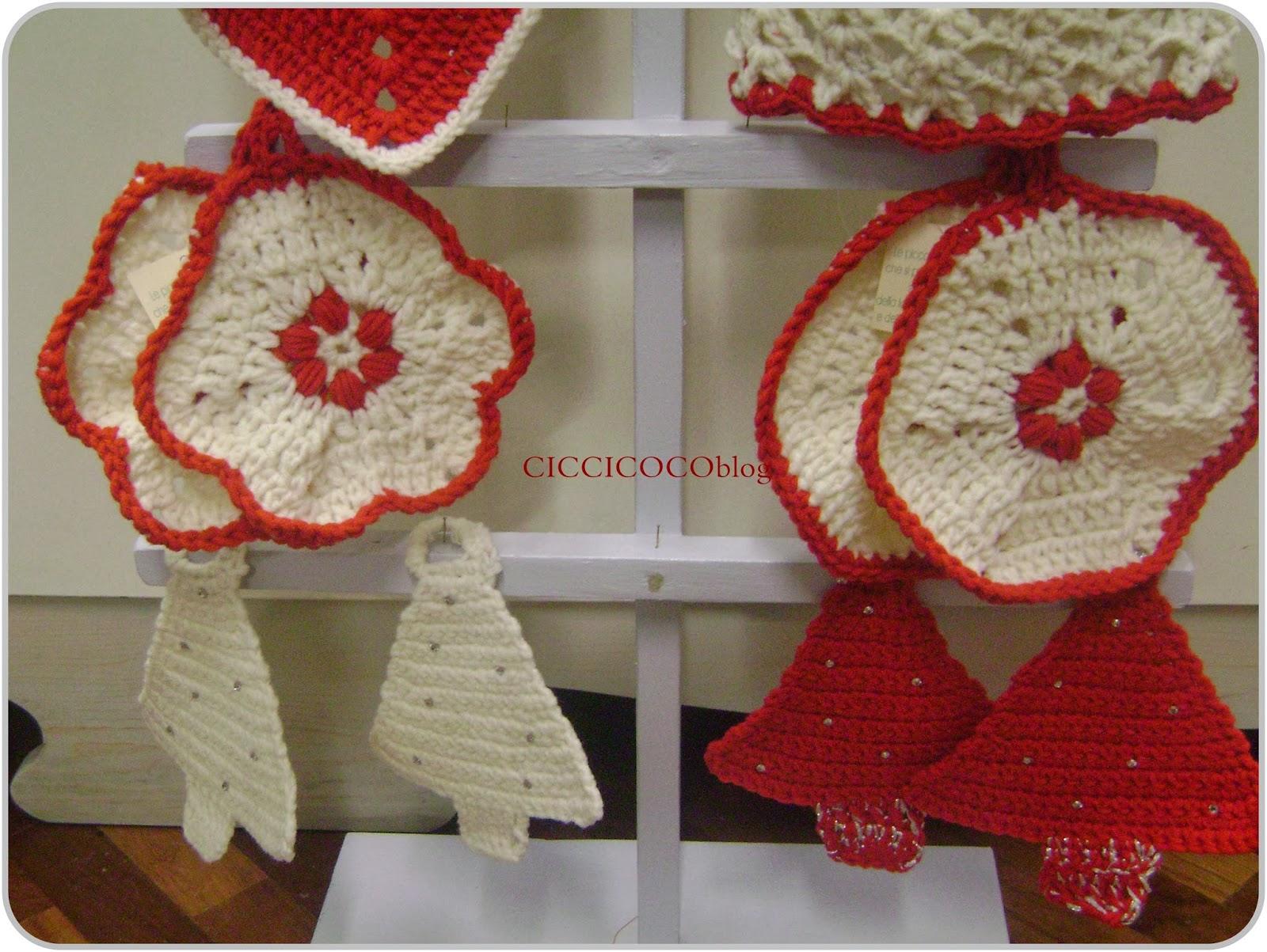 Ciccicocoblog idee regalo per natale presine uncinetto Idee regalo