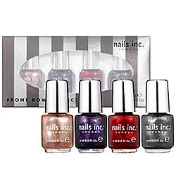 holiday gifts, holiday gift guide, Nails Inc., beauty, Nails Inc. nail polish, Nails Inc. nail lacquer, Nails Inc. Front Row Collection, Nails Inc. gift set, gift set
