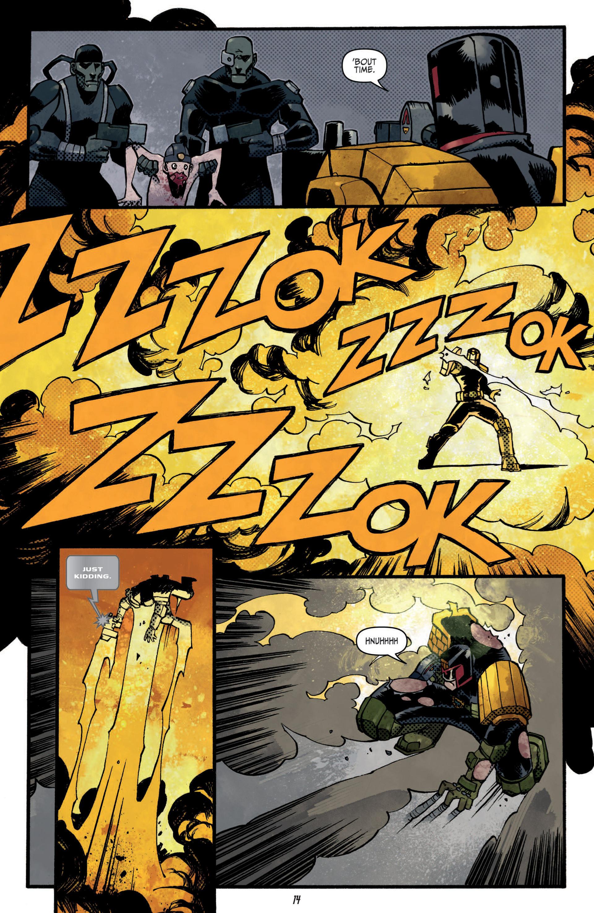 Read online Judge Dredd (2012) comic -  Issue #5 - 16