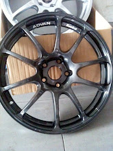 Advan racing RZ Gun metal Replica