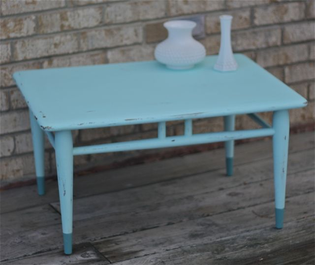 Chirp for Teal coffee table