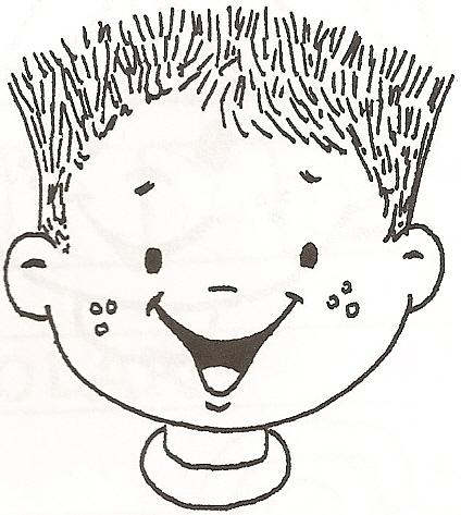 Dibujos de caritas de niños - Imagui