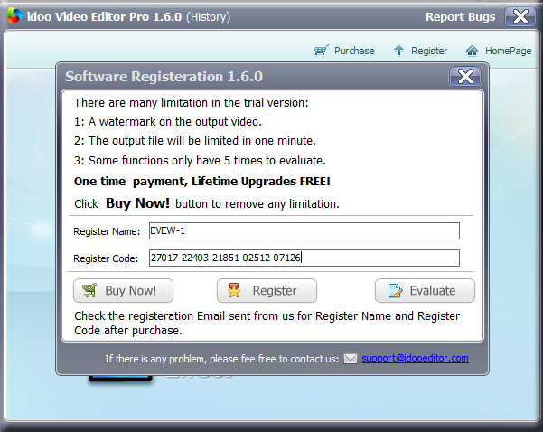 Wondershare Video Converter Pro Registration Code