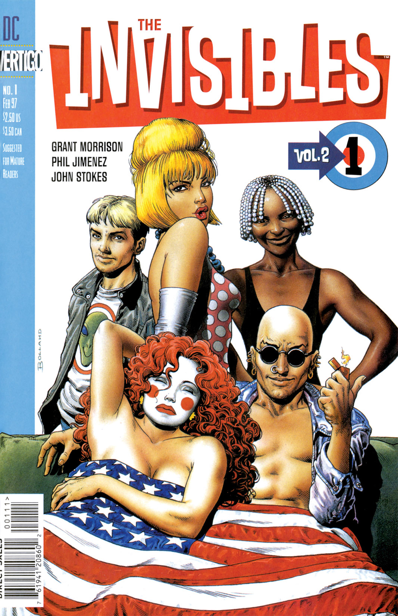 The Invisibles (1997) issue 1 - Page 1