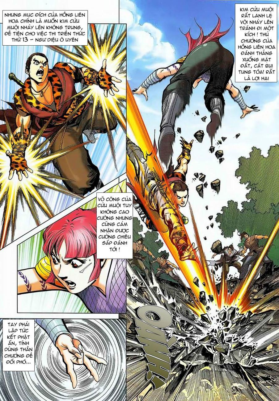 Thần Chưởng Long Cửu Châu chap 8 - Trang 17