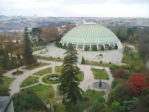 Palacio de cristal en oporto portugal turismo for Jardines del palacio de cristal oporto