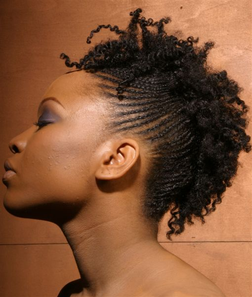 Short Cornrow Hairstyles for Black Women