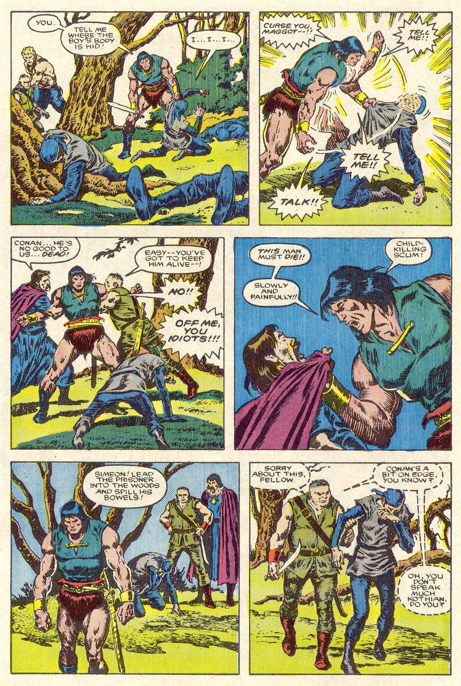 Conan the Barbarian (1970) Issue #188 #200 - English 6