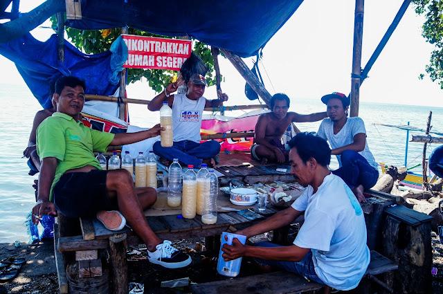 bebida amarilla de Bali