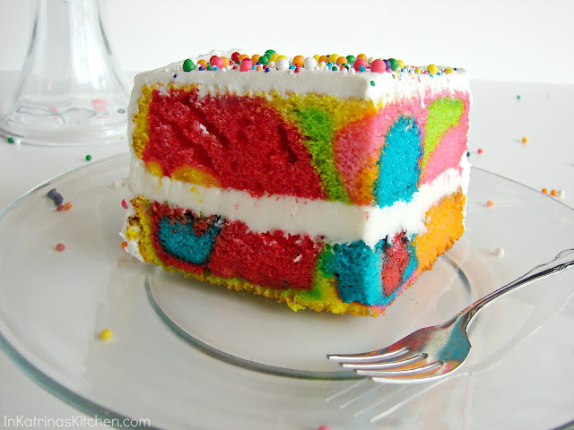 Easy Rainbow Cake Decoration : 301 Moved Permanently