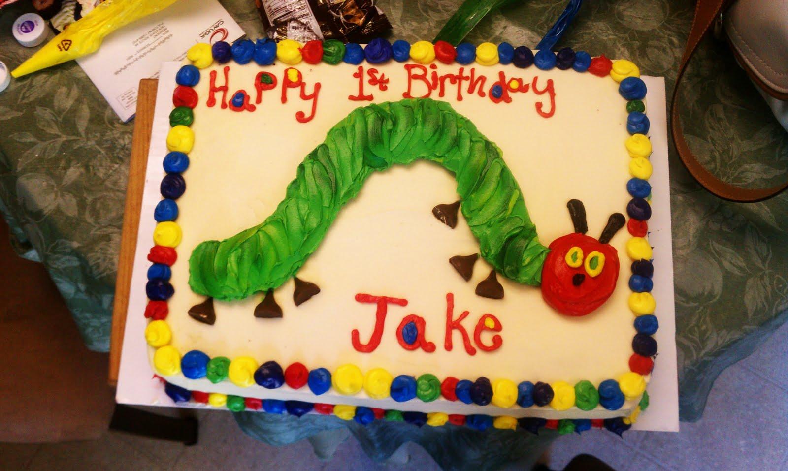 Freelance Frosting Baby jakes birthday cake