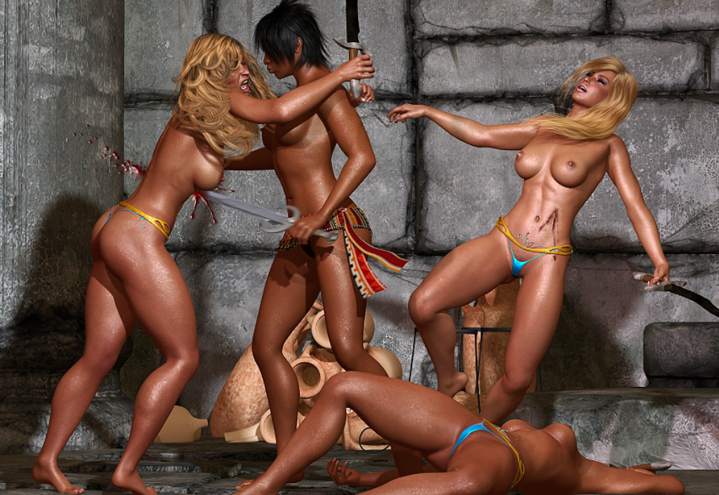amazon and barbarian warriors porn