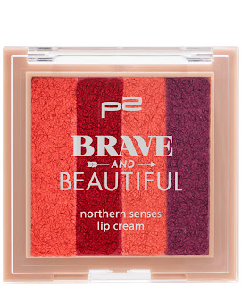 Preview: p2 Limited Edition: Brave and Beautiful - northern senses lip cream - www.annitschkasblog.de