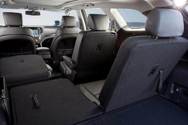 2014 Hyundai Santa Fe interior