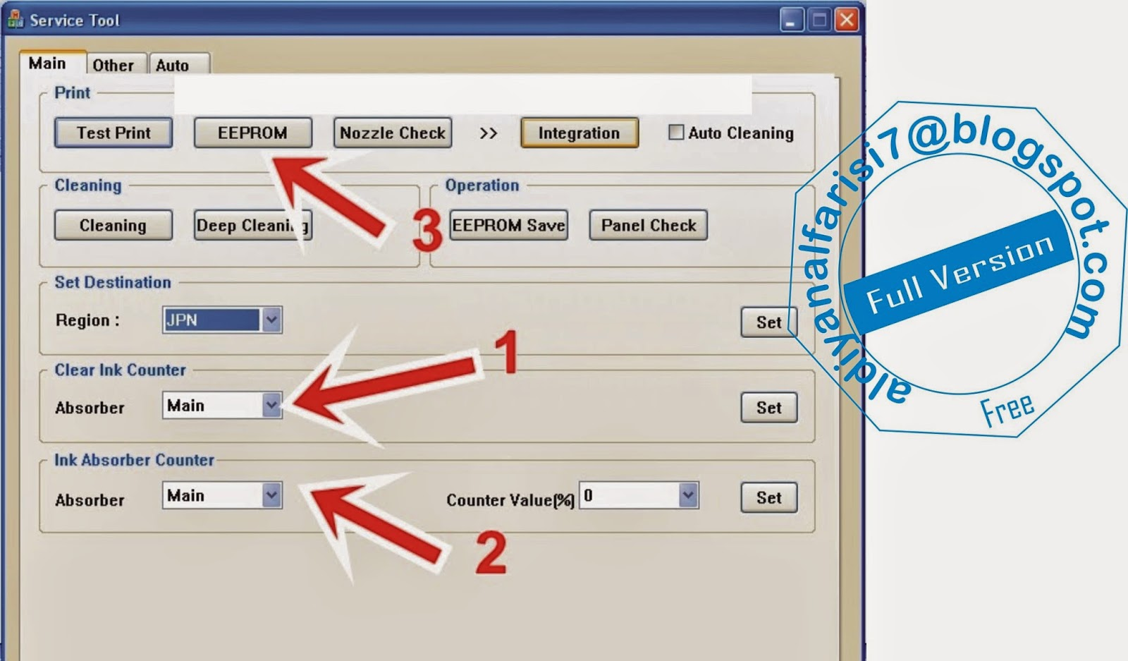 Resetter Tool V3400 | resetter canon mp287 free download