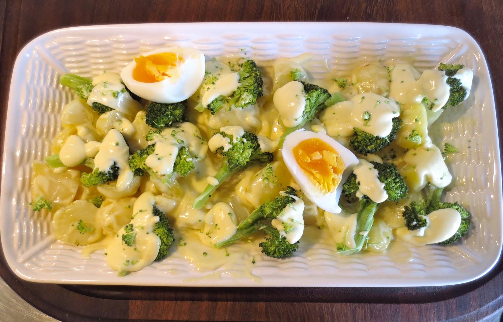 Como Cocinar Brocoli Hervido | Mamuchi En La Cocina Ensalada De Patata Y Brocoli Al Vapor Y En