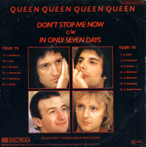 Don't Stop Me Now 1978