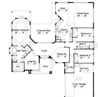 Planos gratis de casas de una planta planos de casas - Planos de casas grandes ...