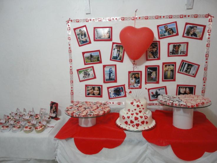 decoracao festa noivado:Nasce uma Noiva: Noivado Decoração