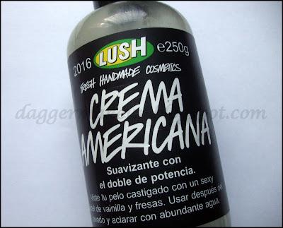Crema Americana de Lush