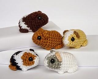 Free Amigurumi Patterns Uk : Free amigurumi patterns free cute guinea pigs crochet pattern