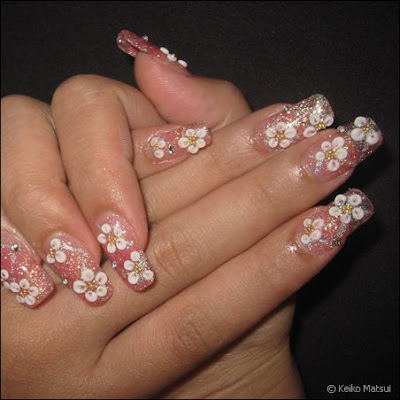 Japanese nails design art exhibit ks nails in vancouver bc prinsesfo Image collections