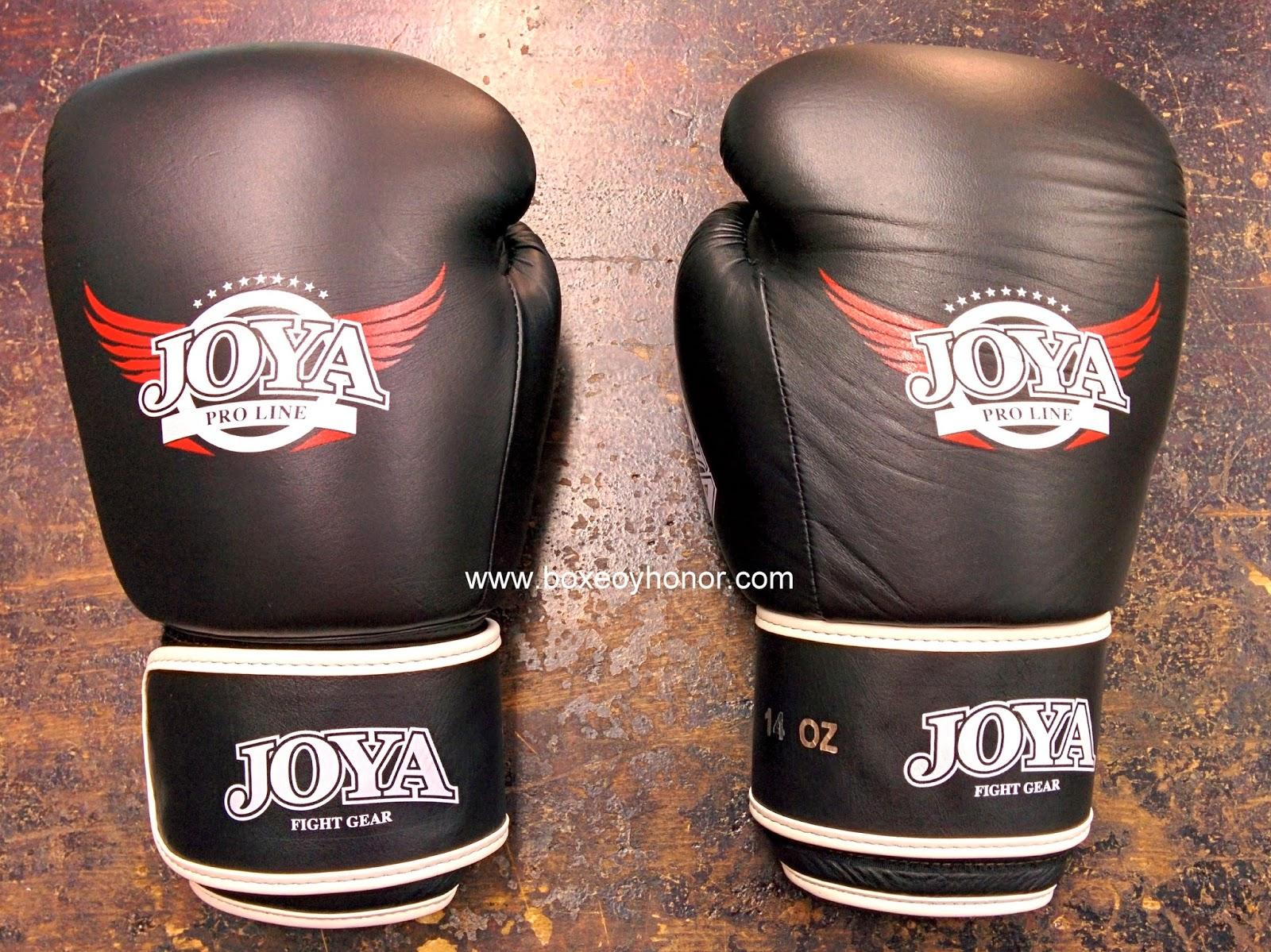 guantes de boxeo joya pro line