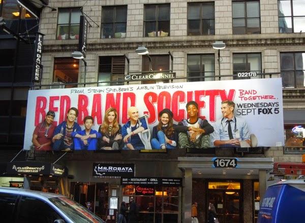 Red Band Society season 1 billboard NYC