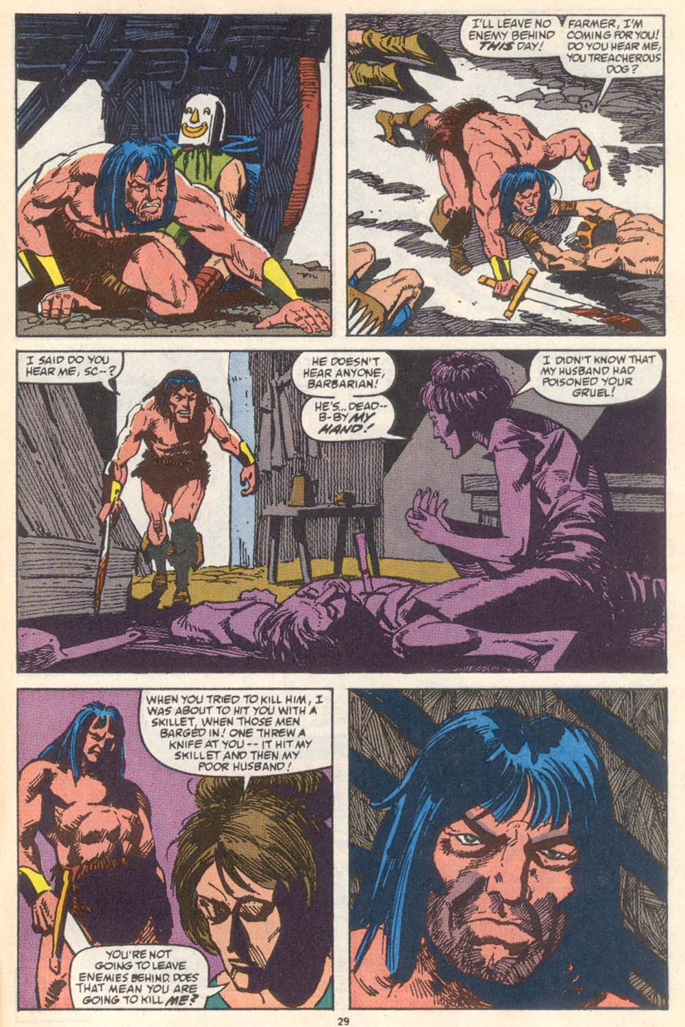 Conan the Barbarian (1970) Issue #222 #234 - English 22